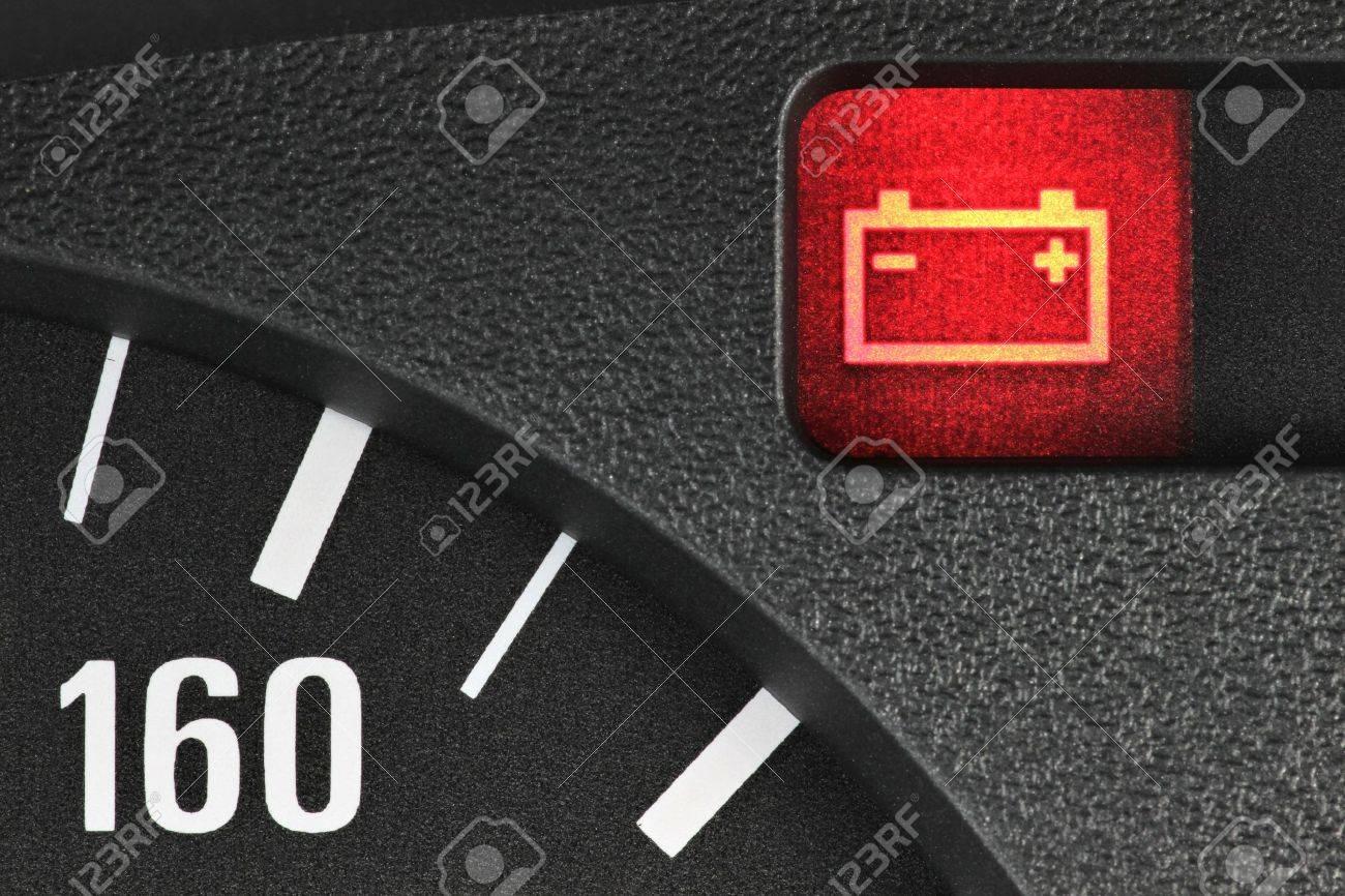battery warning light - 52074402