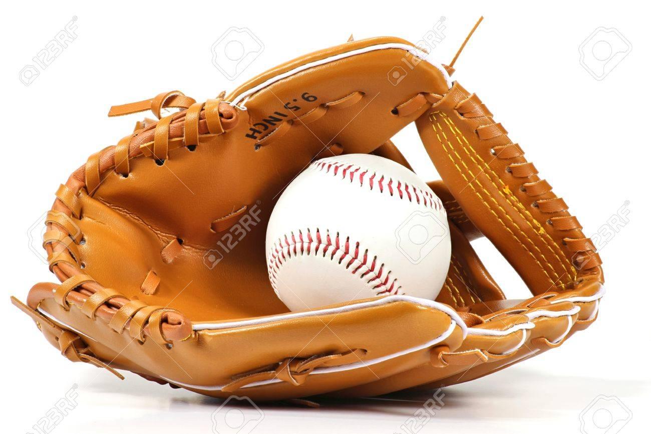 baseball equipment isolated on white background - 52955766