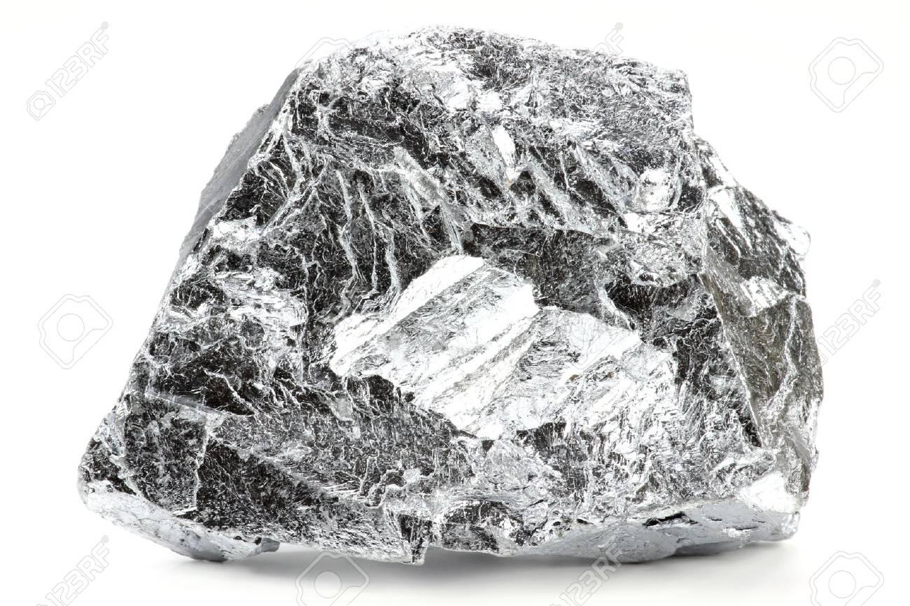 chromium isolated on white background - 52955684