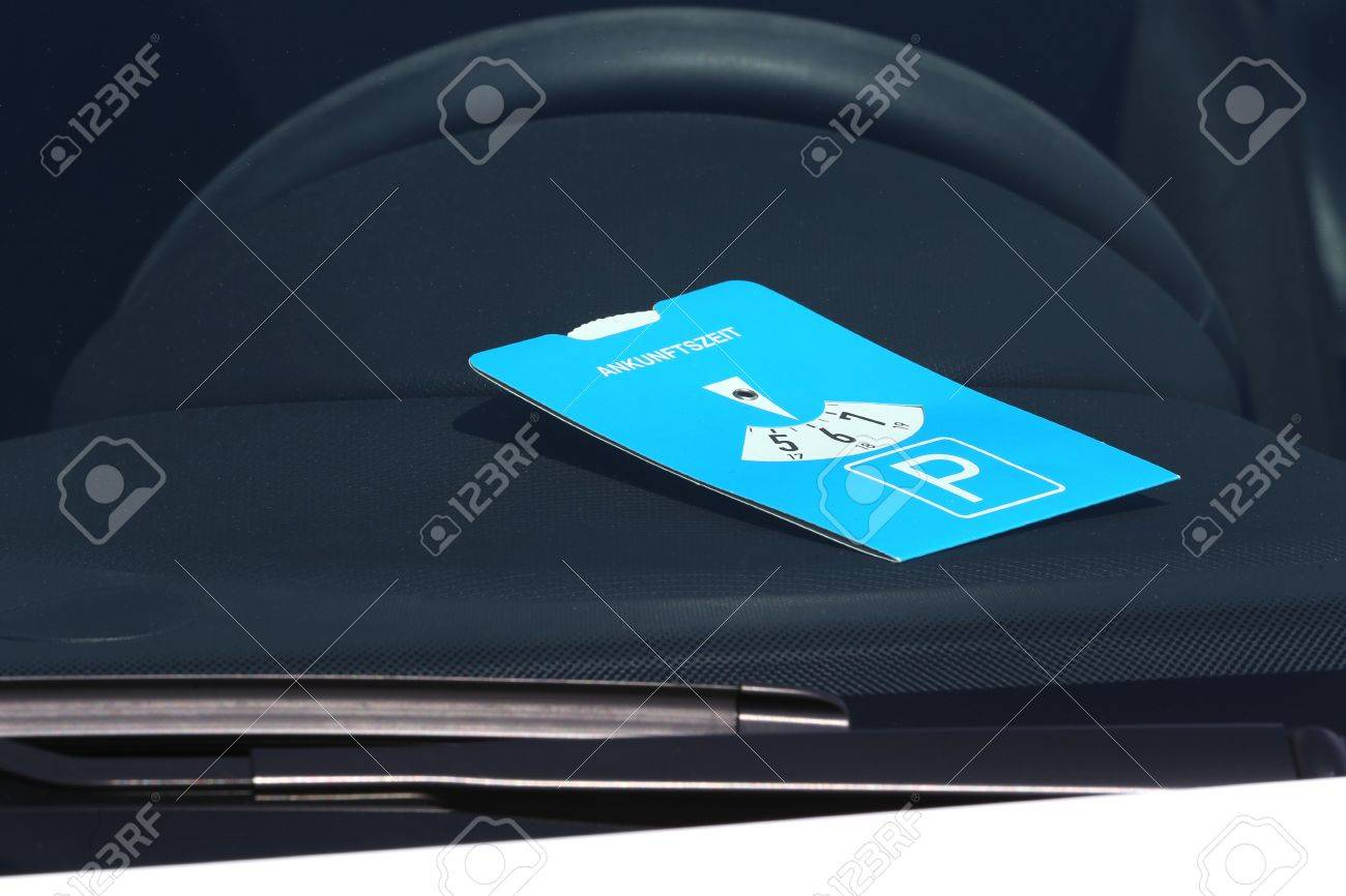 Disco de aparcamiento Disco de estacionamiento con est/ándares europeos