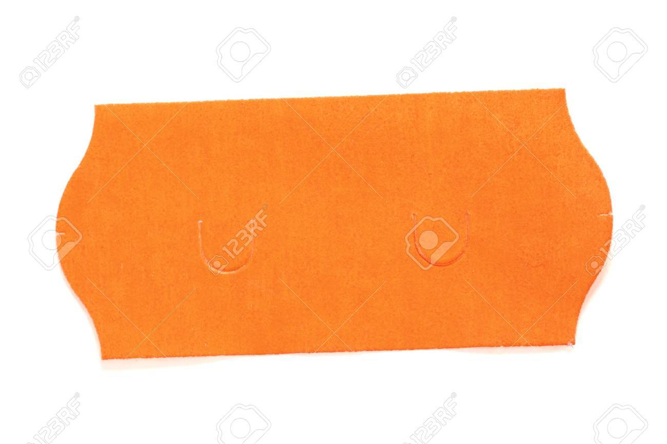 red price sticker isolated on white background - 63553974