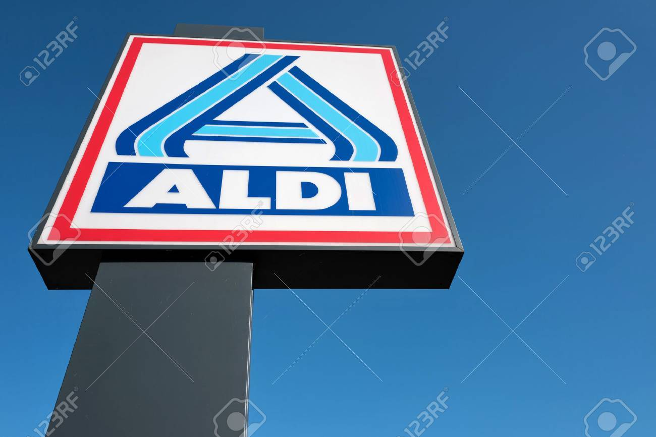 Aldi sign against blue sky stock photo picture and royalty free aldi sign against blue sky stock photo 64754881 biocorpaavc