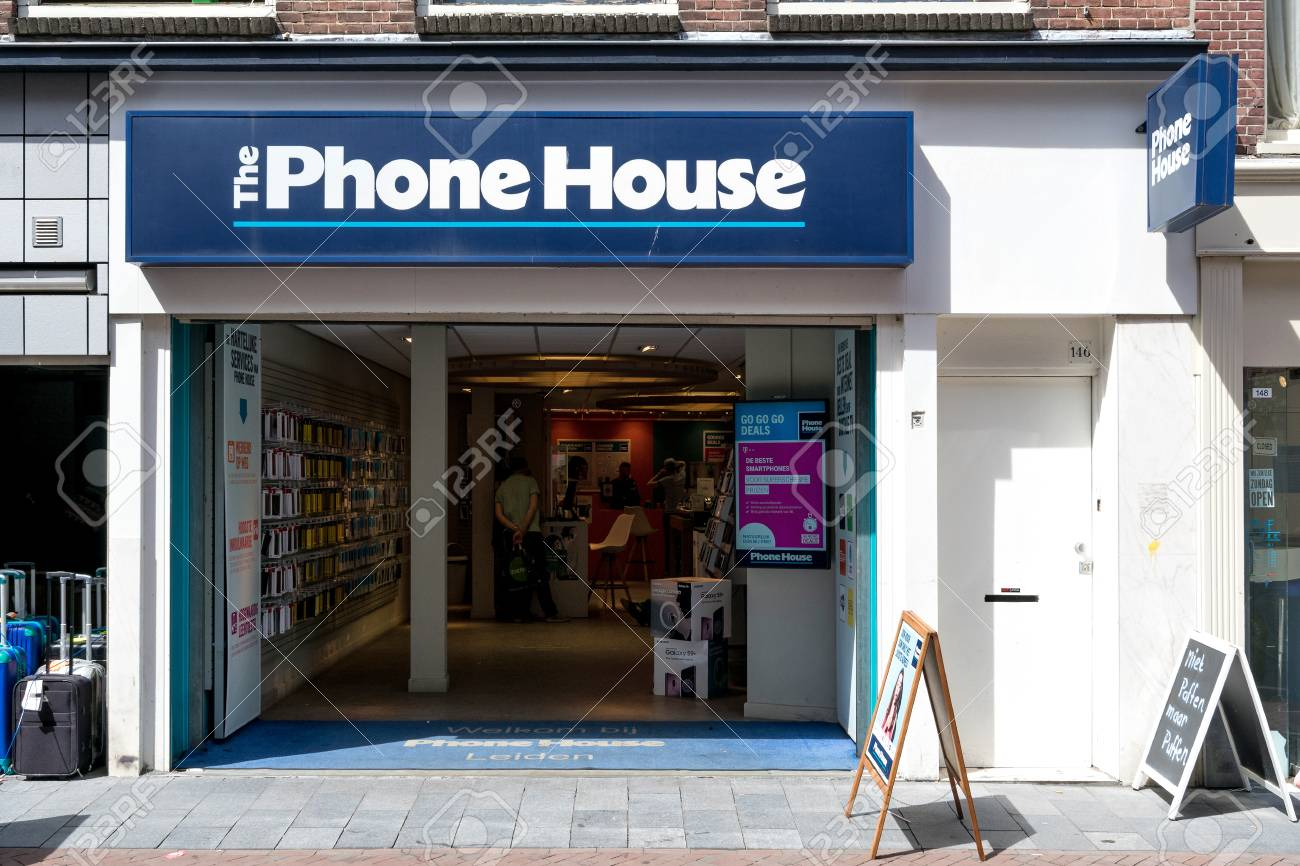 The Phone House Branch In Leiden The Carphone Warehouse Ltd Stock Photo Picture And Royalty Free Image Image 107048660