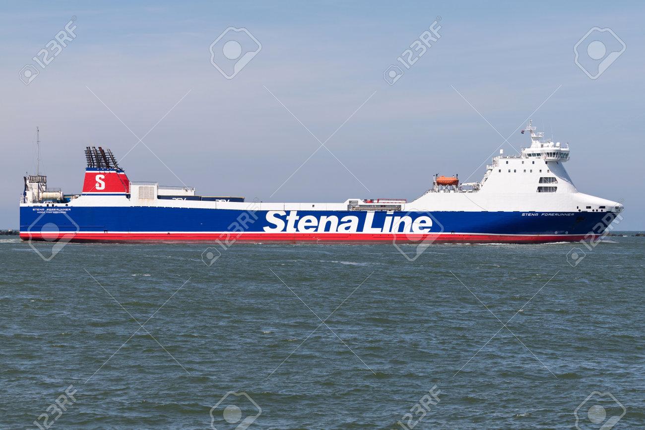STENA FORERUNNER inbound Rotterdam  Stena Line is one of the
