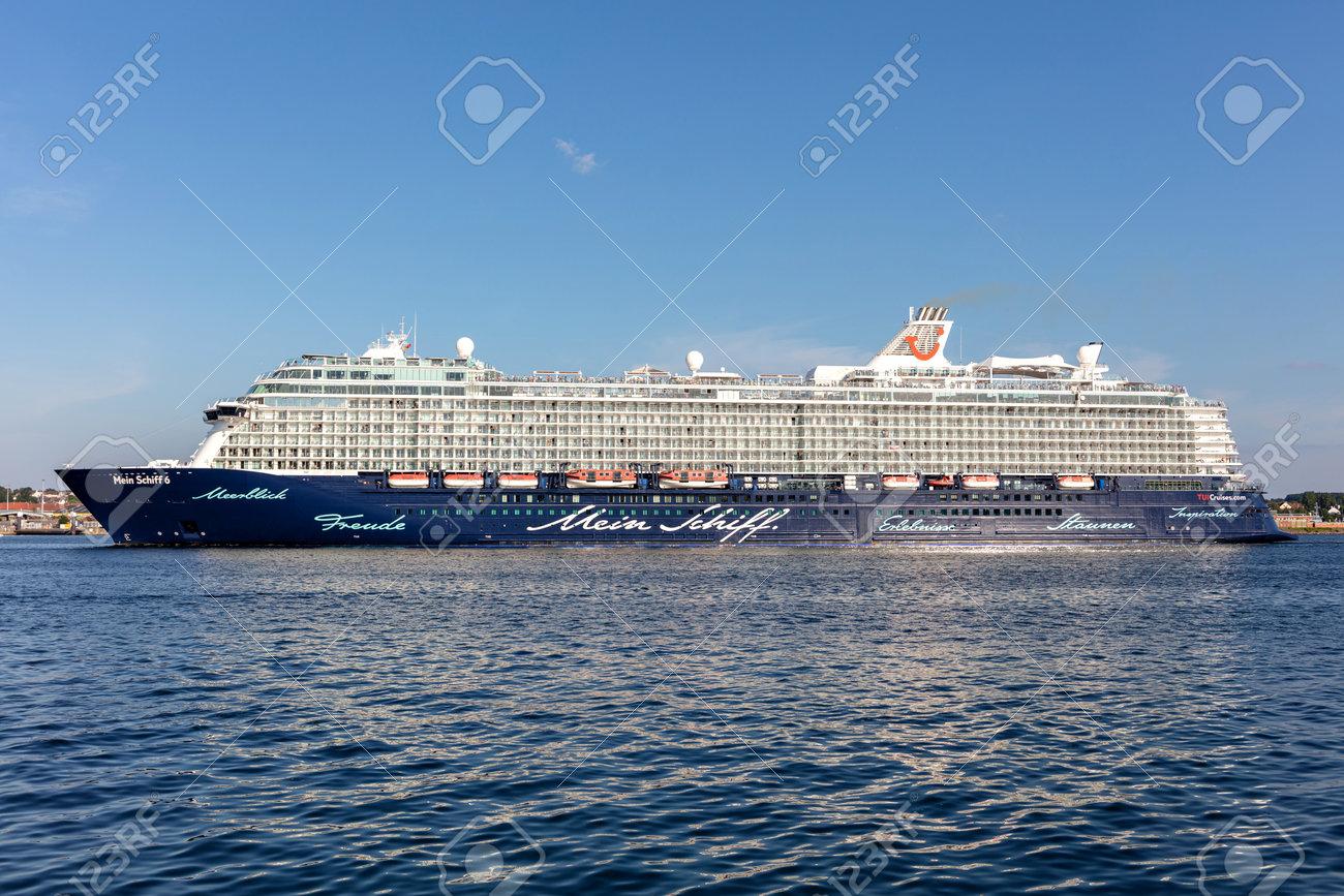 TUI cruise ship Mein Schiff 6 in the Kiel Fjord - 171122713