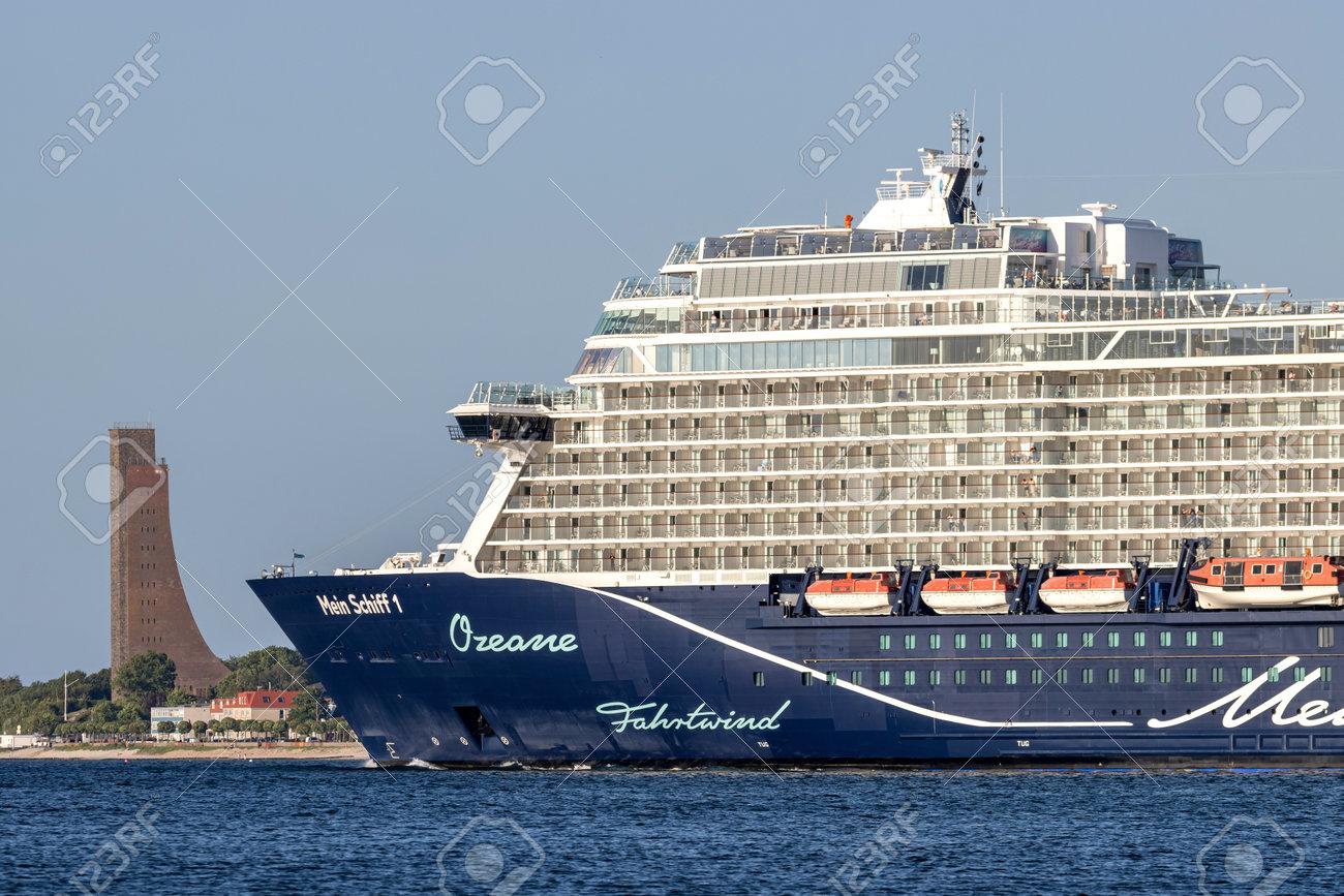 TUI cruise ship Mein Schiff 1 in the Kiel Fjord - 171121605