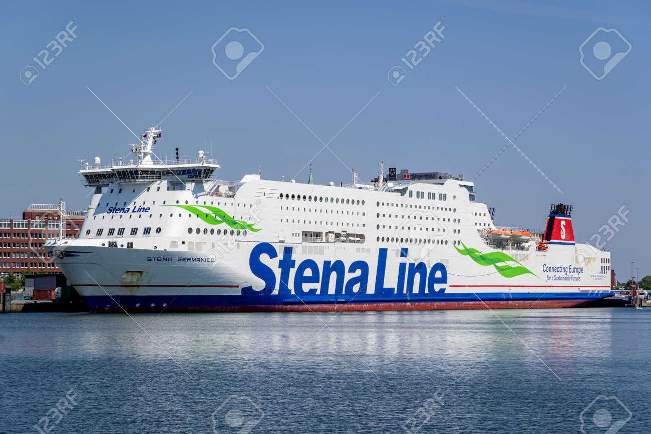 Stena Line ferry STENA GERMANICA in the port of Kiel - 171121610
