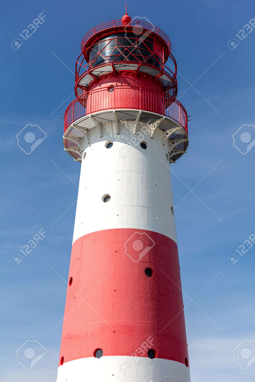 Falshoeft lighthouse at the Baltic Sea coast in Schleswig-Holstein, Germany - 171531096