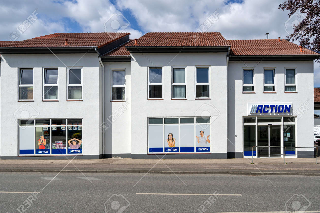 Action branch in Schleswig, Germany - 171646071