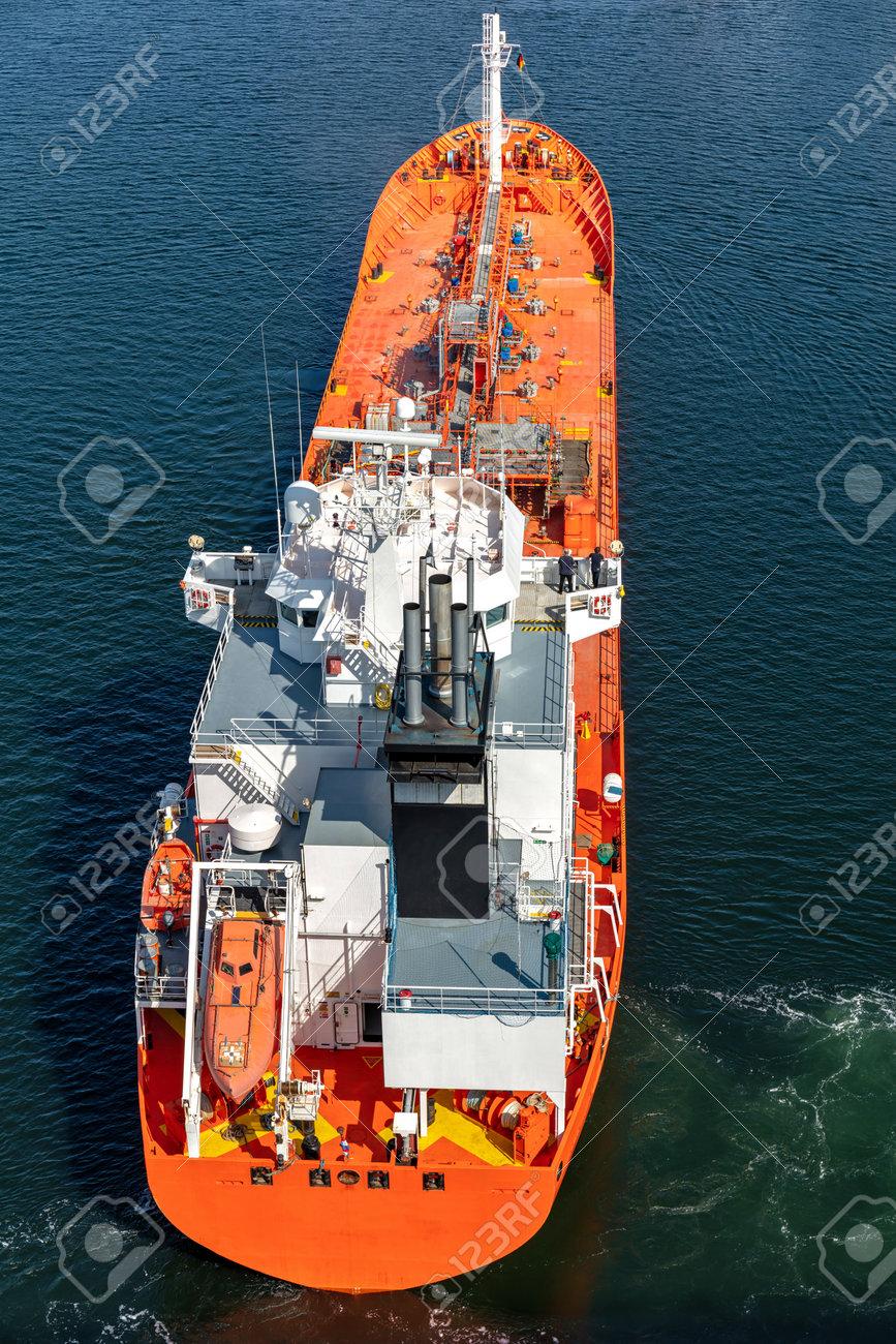 chemical tanker in the Kiel Canal - 172231238