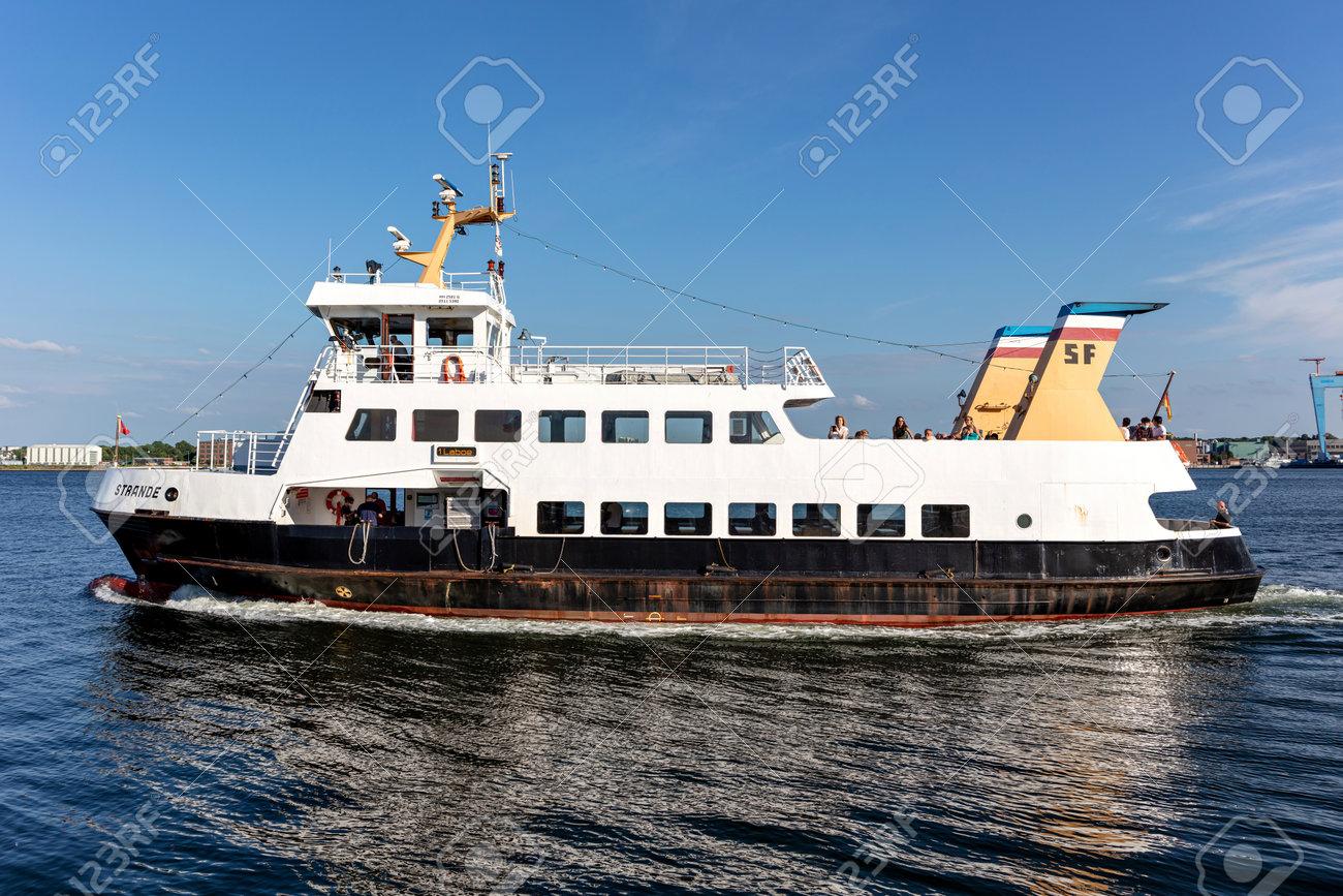 SFK passenger ship STRANDE in the Kiel Fjord - 172291403