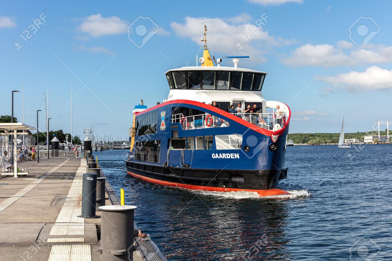 SFK passenger ship GAARDEN in the Kiel Fjord - 172291399