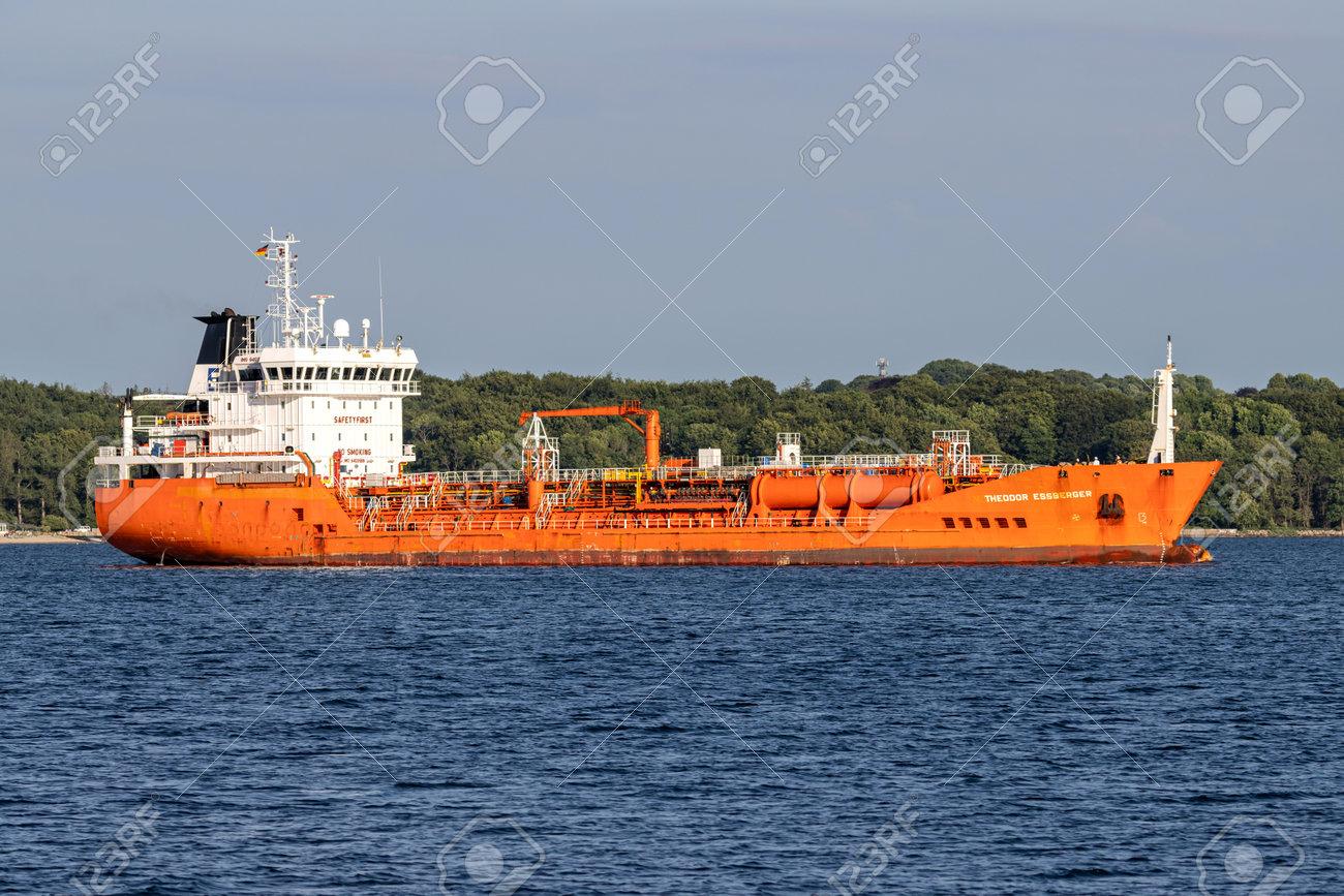 chemical tanker THEODOR ESSBERGER in the Kiel Fjord - 172291404