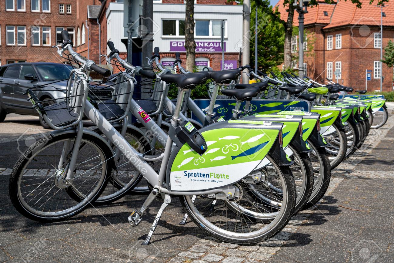 SprottenFlotte bikes at Eckernförde station - 172418148