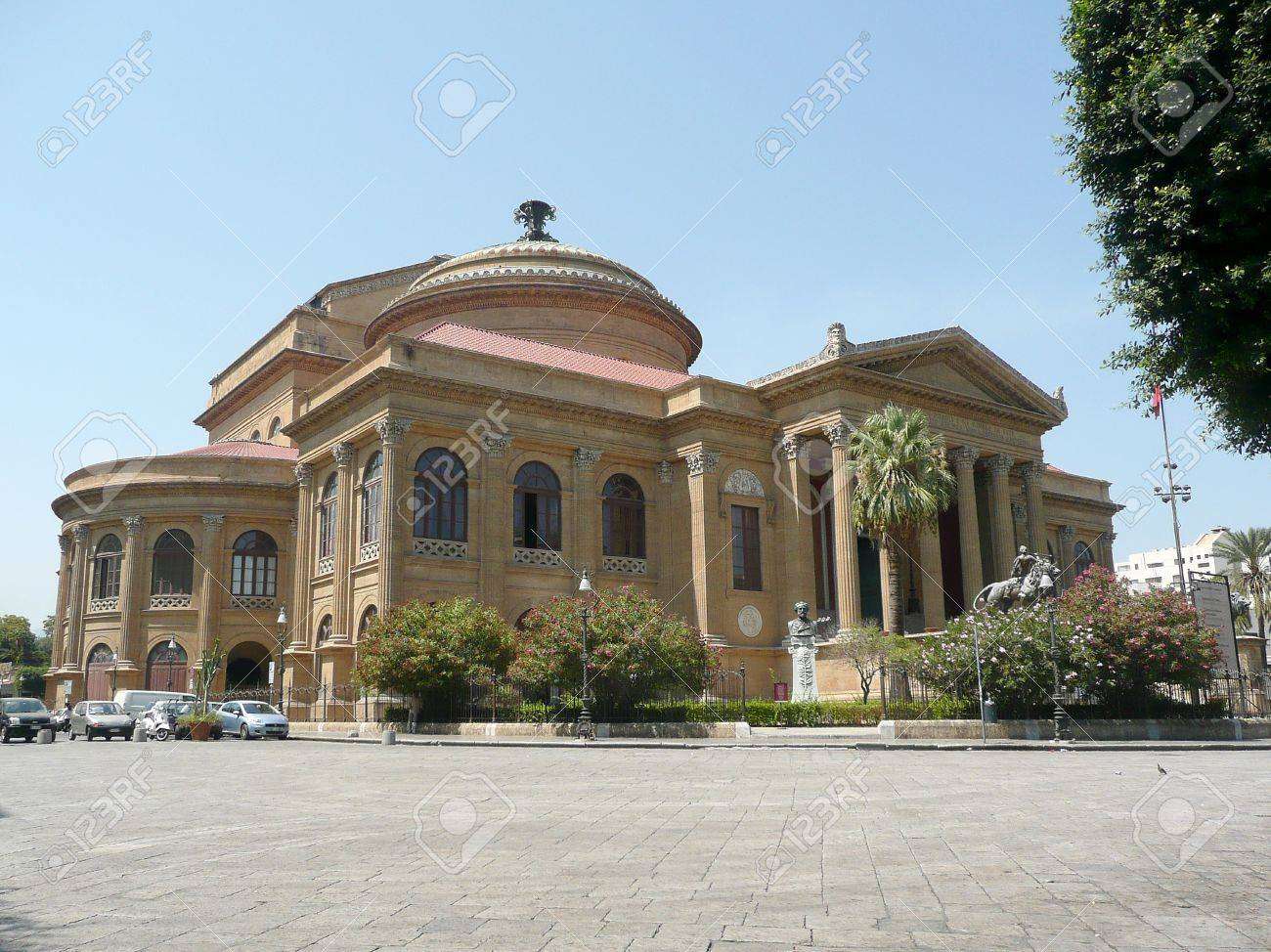 Teatro Massimo Opera House, Palermo, Italy Stock Photo, Picture And ...