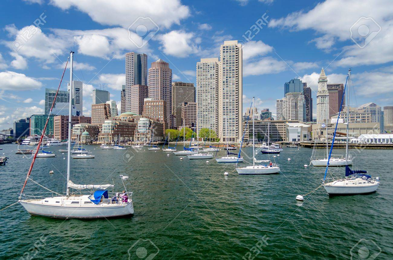 Boston Skyline as seen from the Bay - 20827346