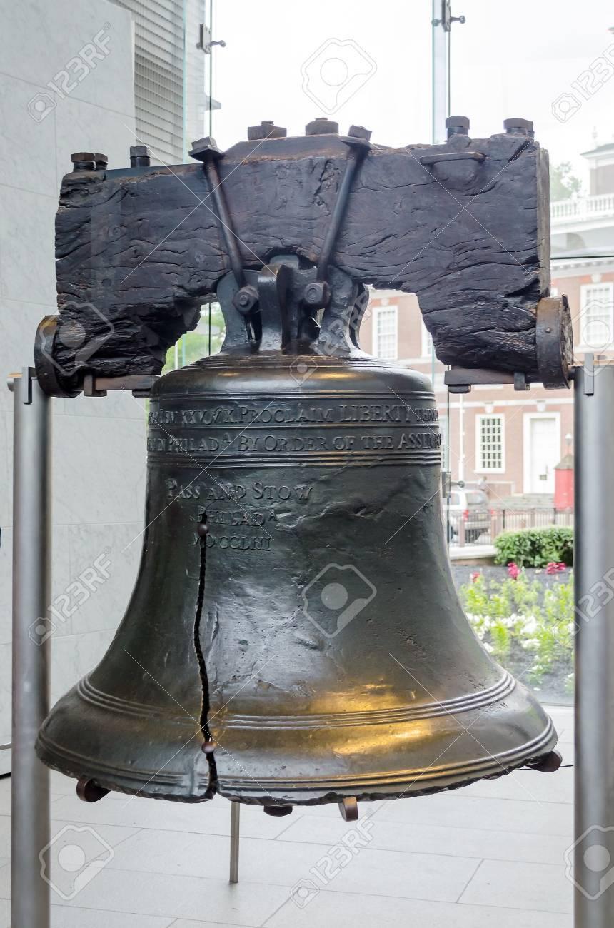 Liberty Bell à Philadelphie, Pennsylvanie, USA Banque d'images - 20986908