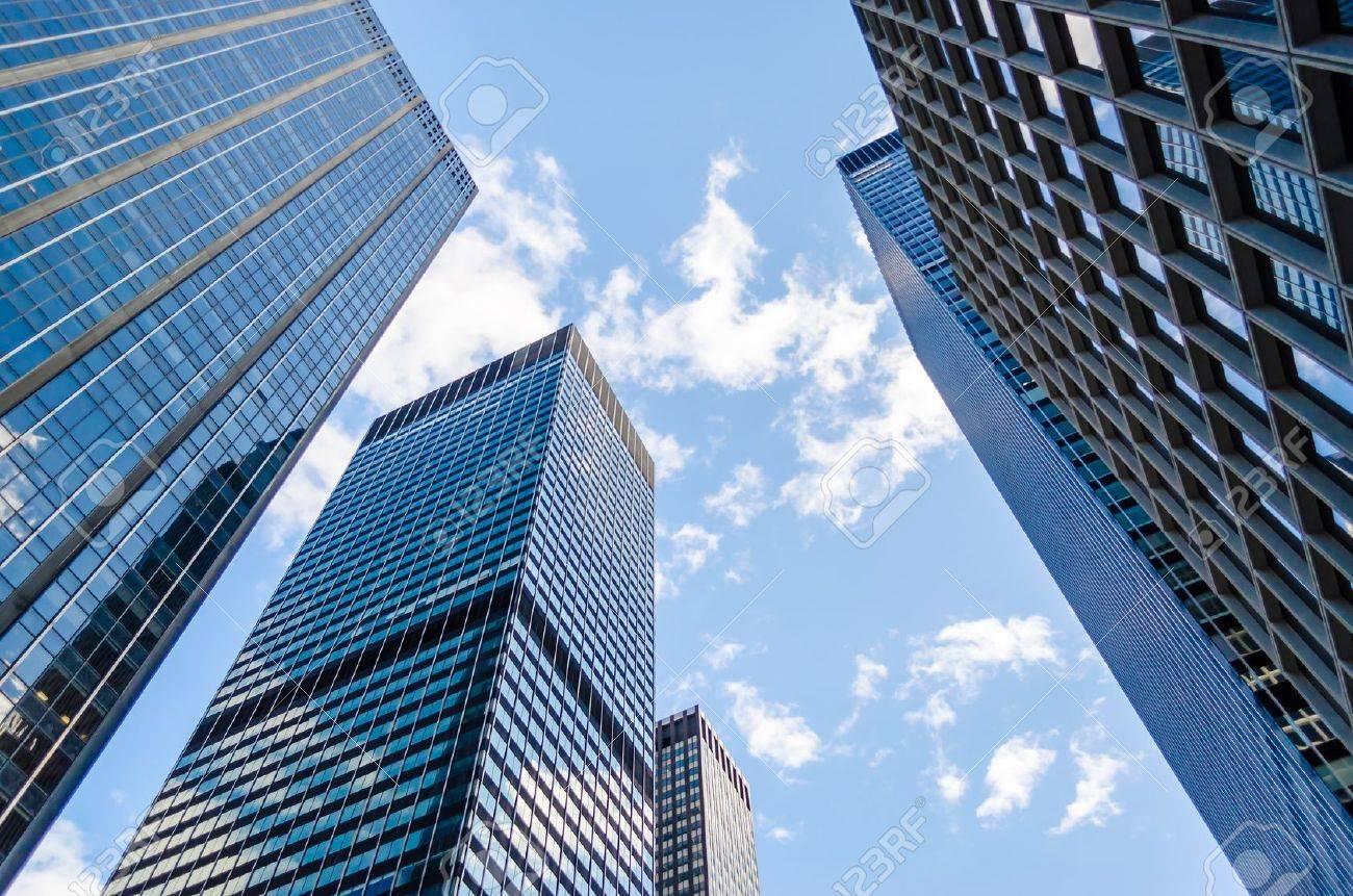 Gratte-ciel de Manhattan, New York City Banque d'images - 21211428