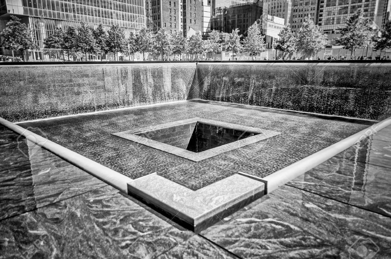 Septembre National Memorial 11, New York Banque d'images - 21581307