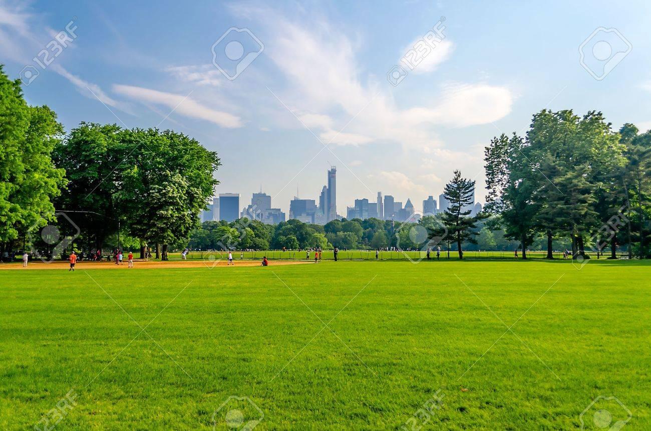 Central Park, Manhattan, New York City Banque d'images - 21710553