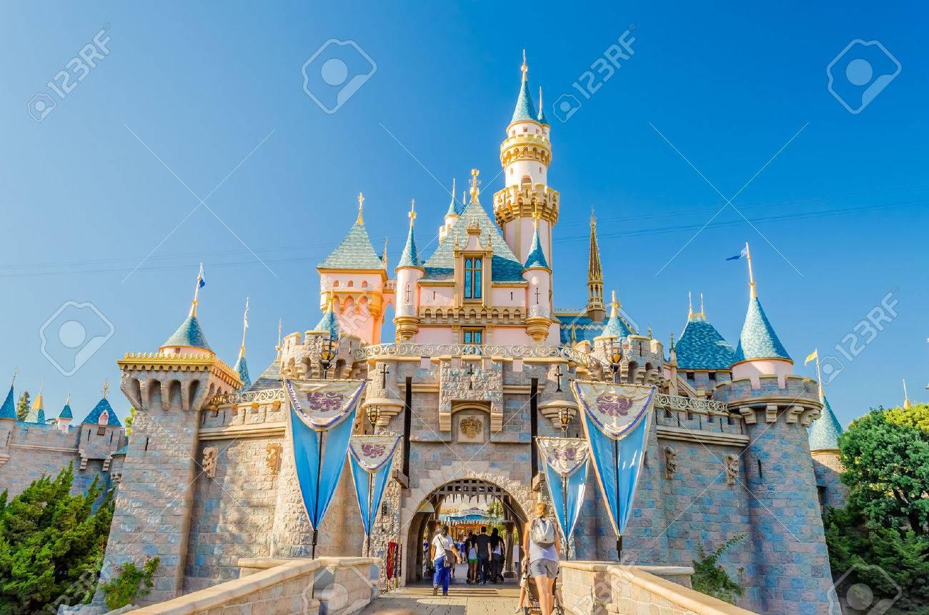 Sleeping Beauty Castle at Disneyland Park. - 36460704