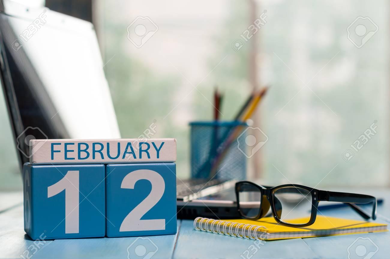 12 Fevrier Jour 12 Du Mois Calendrier Database Administrator