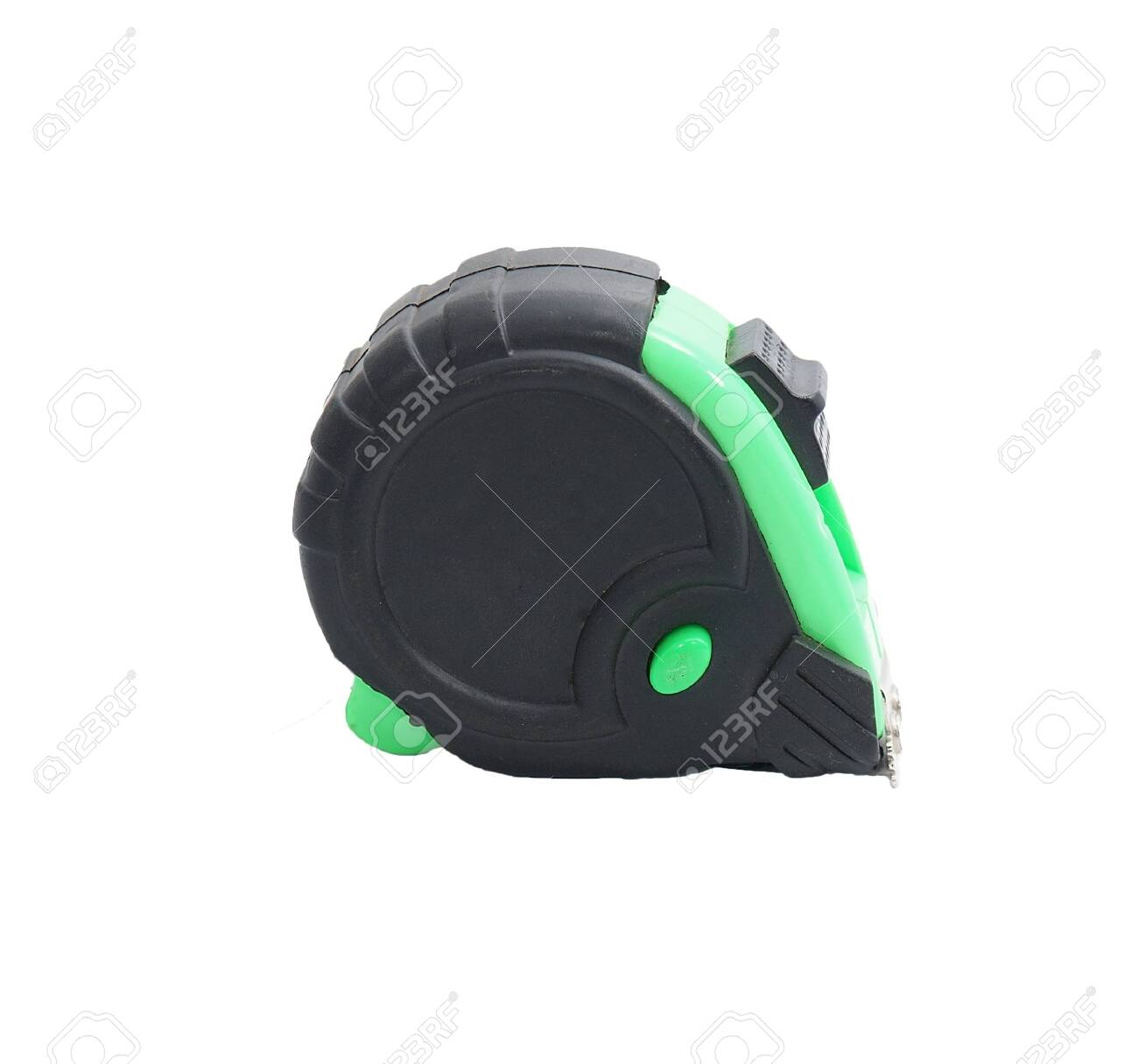 black and green tape measure Stock Photo - 17693009