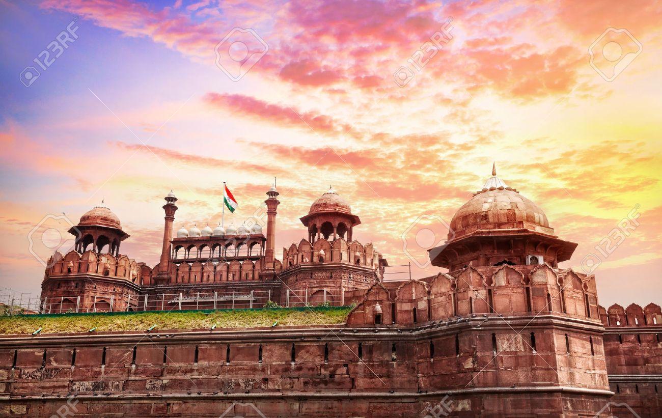 古いデリー、インドでインドの国...