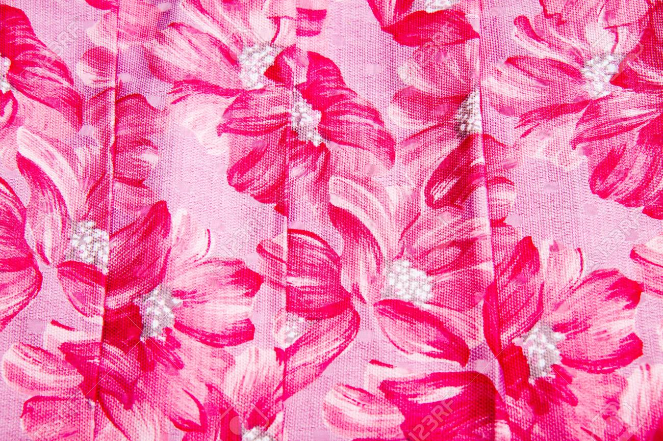 Fragment of colorful retro tapestry textile pattern with floral Stock Photo - 22081448