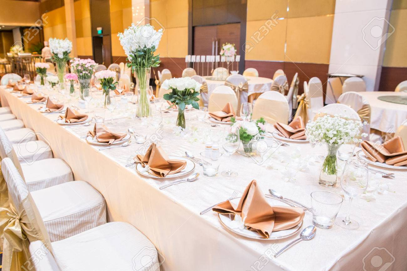 Wedding Table Setting Stock Photo Picture And Royalty Free Image Image 41528745
