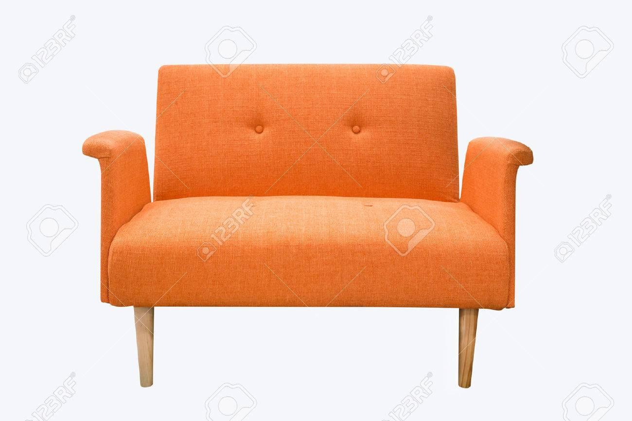 sofa furniture isolated on white background Stock Photo - 45934738