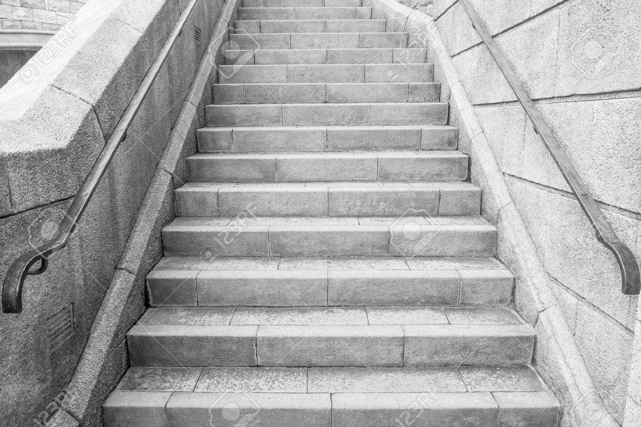 Marble Stairs Stock Photo   46376266