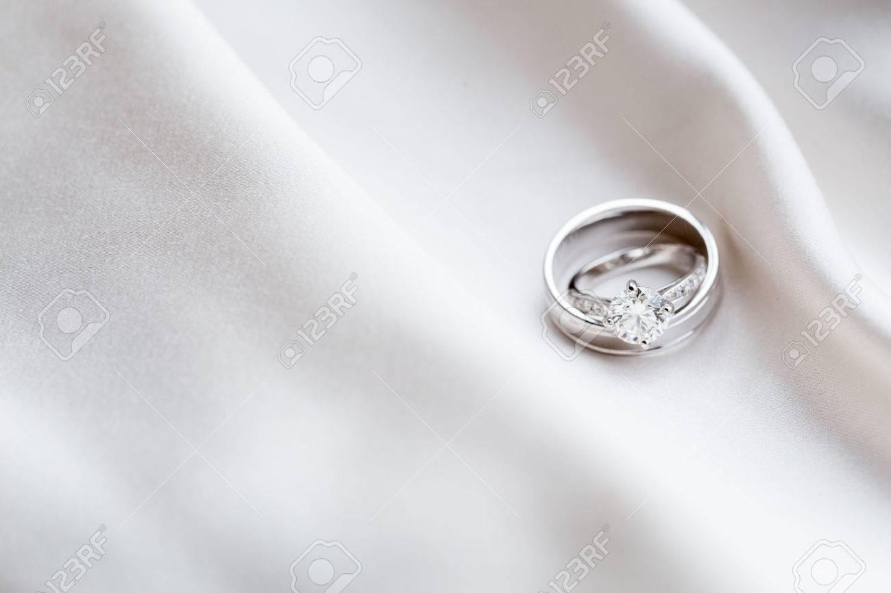 Wedding rings Stock Photo - 46376415