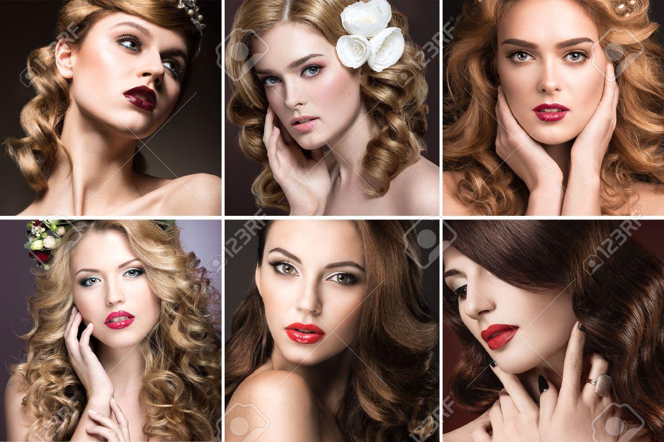 peinado y maquillaje de noche