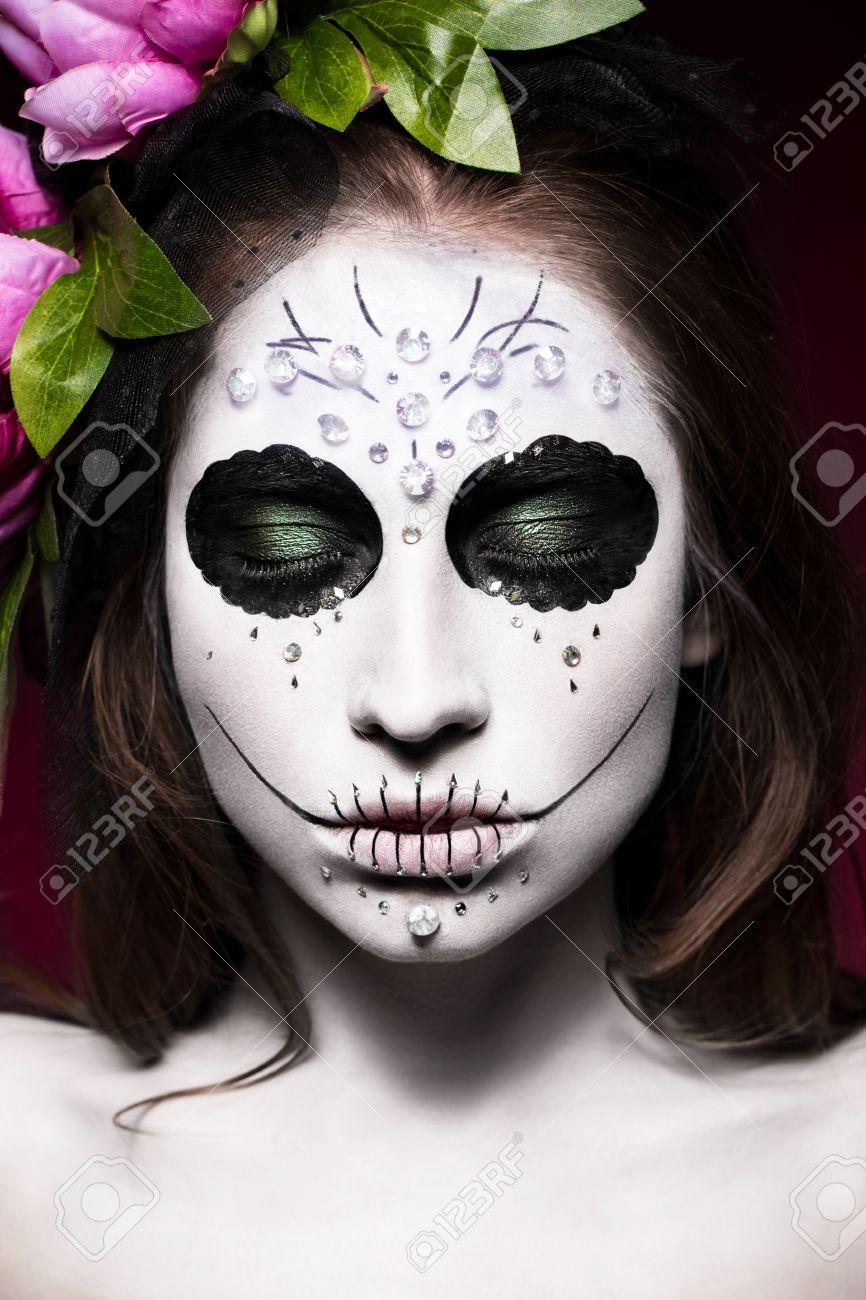 Maquillage Halloween Squelette Homme Maquillage Halloween Tte De