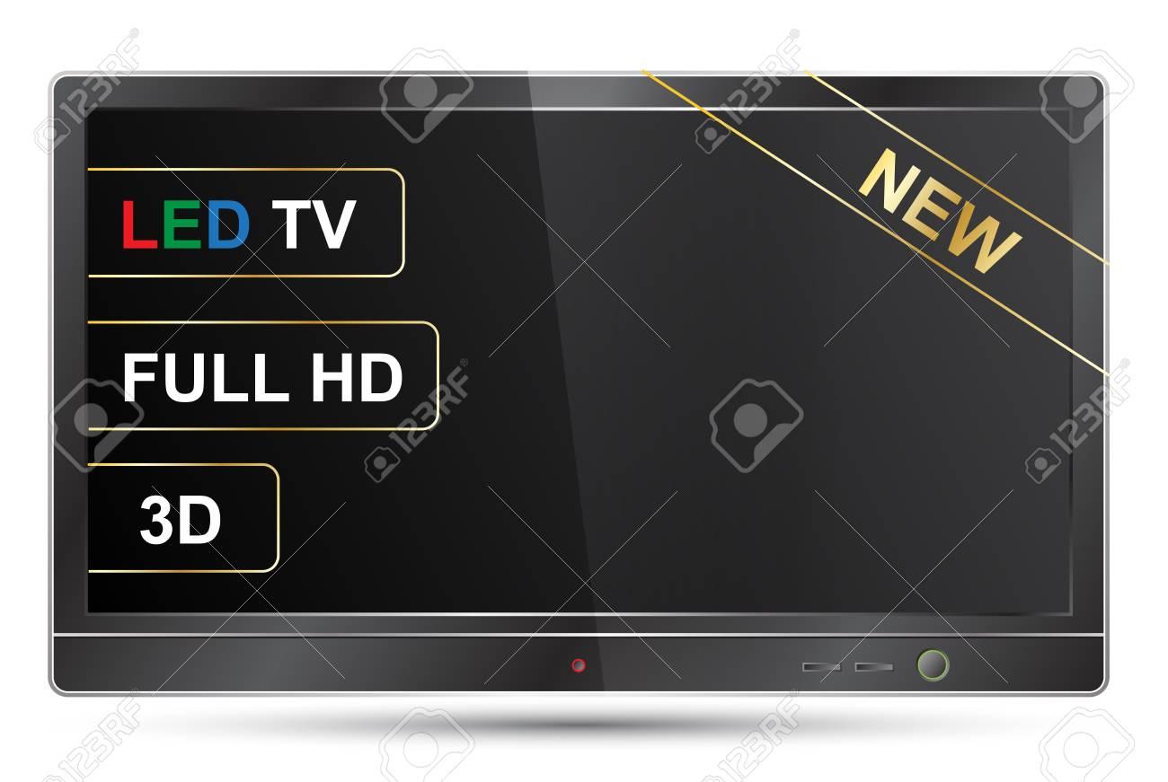 new TV Stock Vector - 17757926