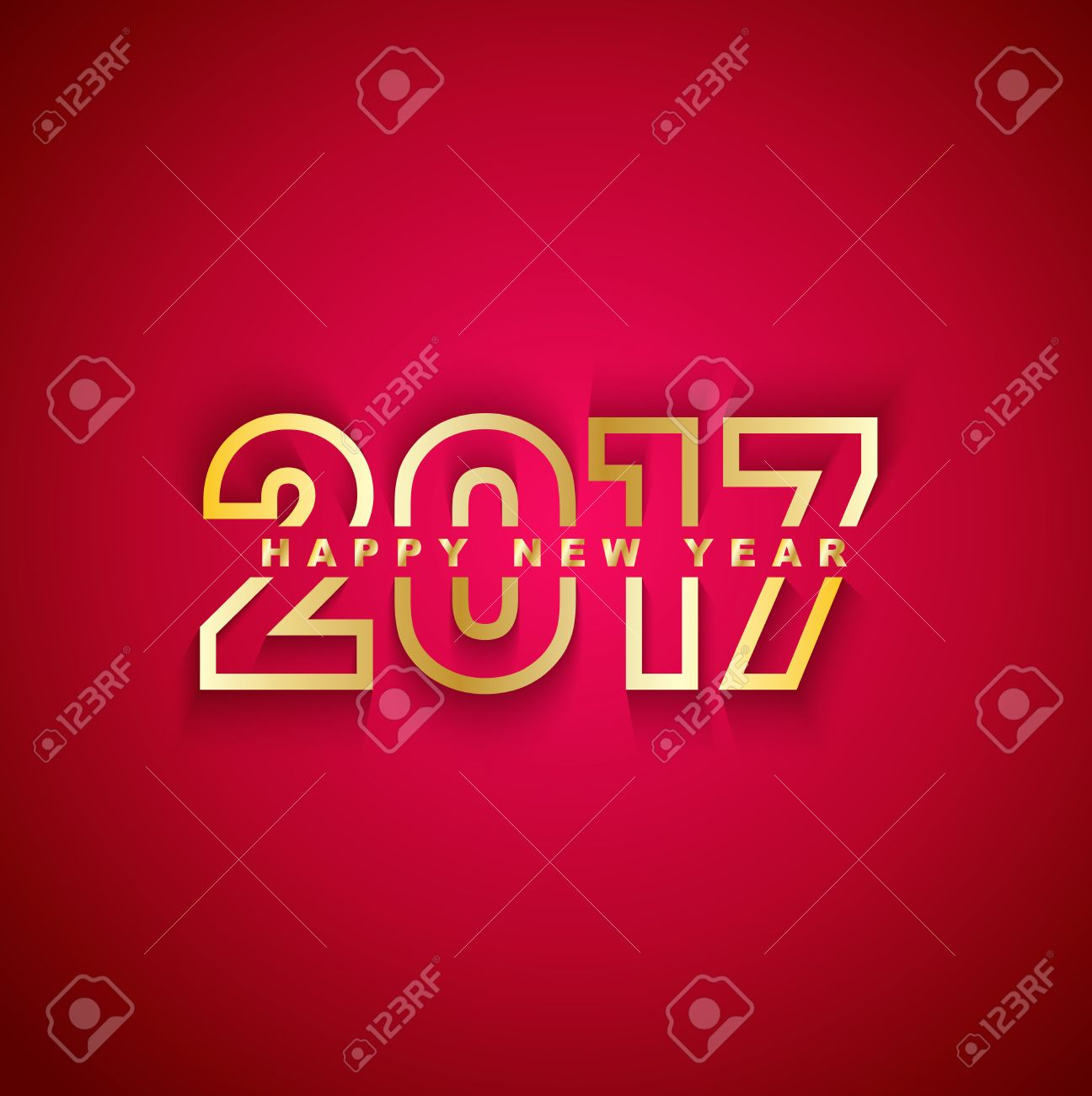 2017 Happy New Year - 44848931