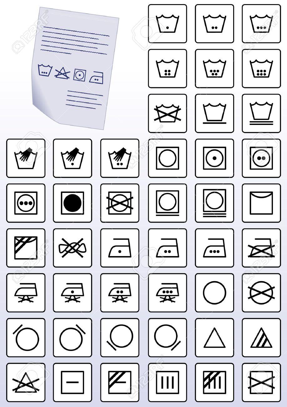 Clothing care symbols the best clothing 2017 clothing articles fabric care symbols 1 image buycottarizona Gallery