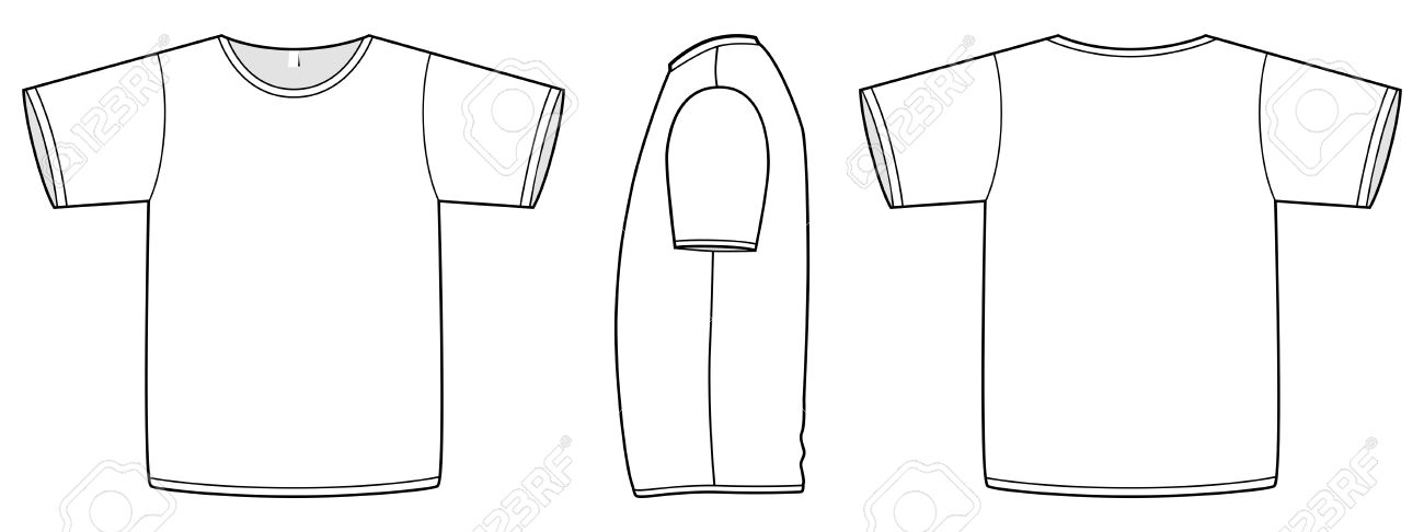 Tshirt Template Illustrator. t shirt template illustrator ...
