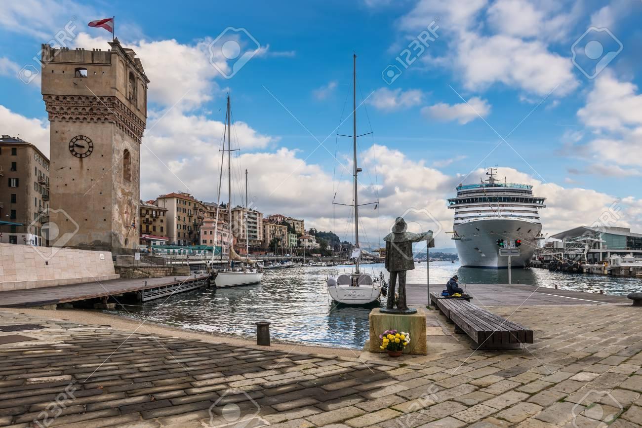 Savona Italy December 2 2016 The Cruise Ship Costa Deliziosa