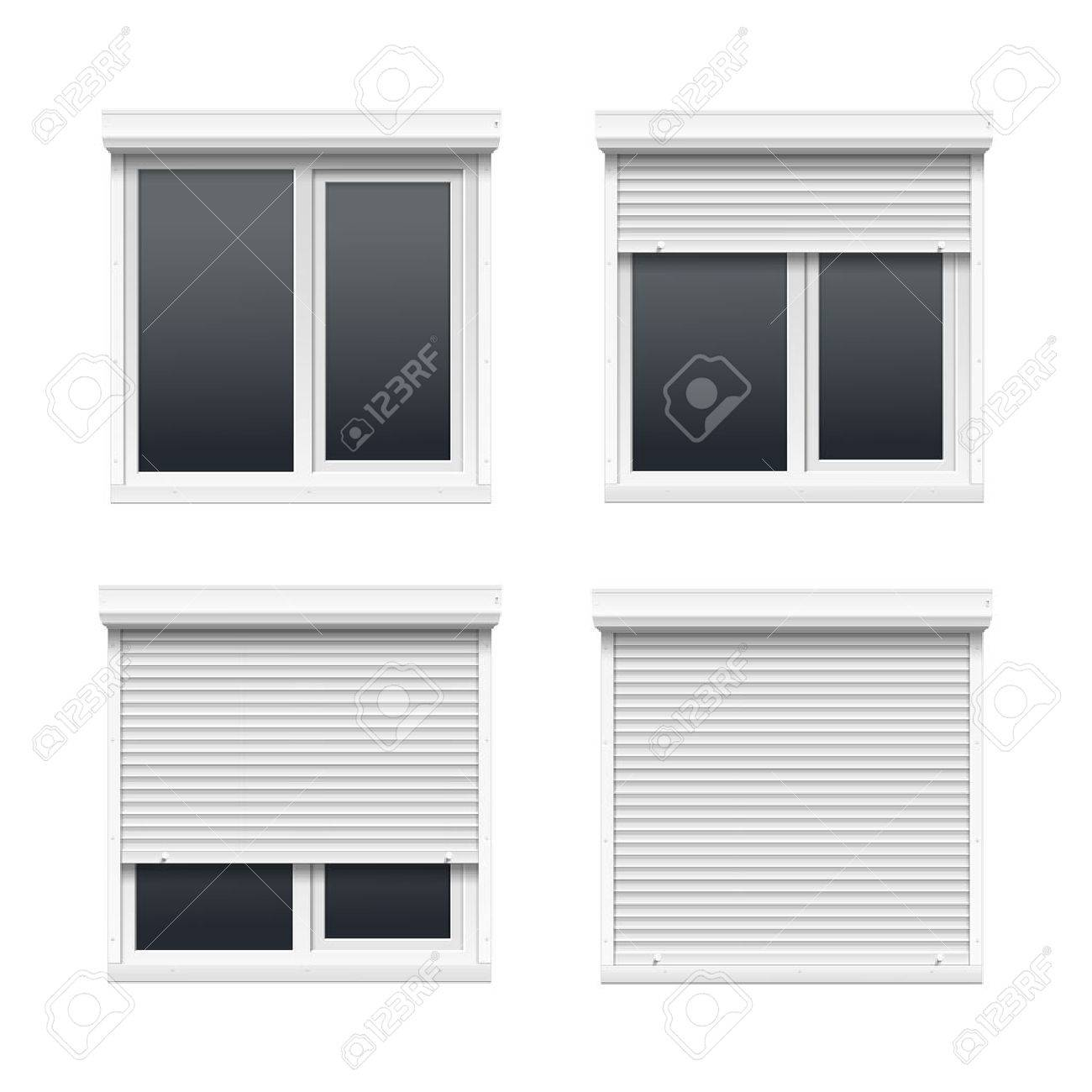 1380 Window Shutters Stock Vector Illustration And Royalty Free