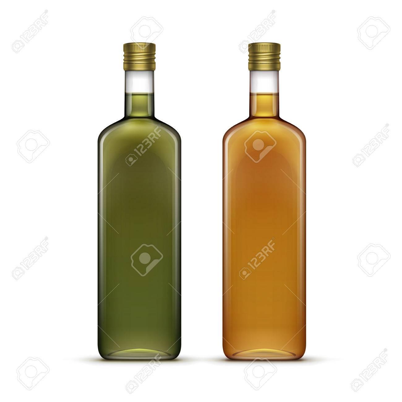 Vector Set Von Alkohol Alkoholische Getränke Getränke Whiskey Oder ...