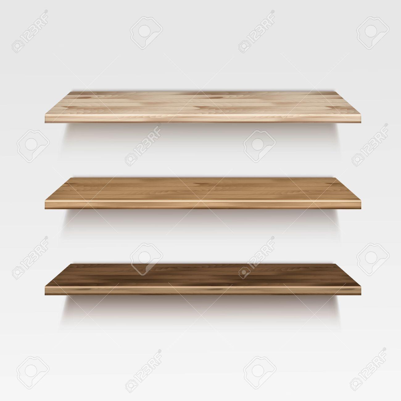 Houten Plank Voor Aan Muur.Lege Houten Houten Plank Planken Geisoleerd Op Achtergrond Van De
