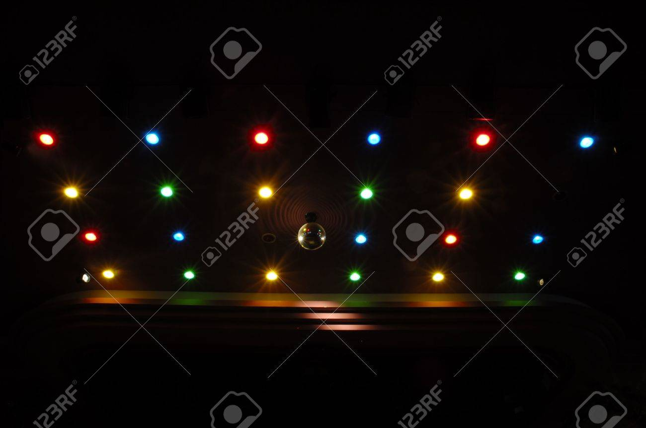 Disco lights with many different colors Stock Photo - 1932007