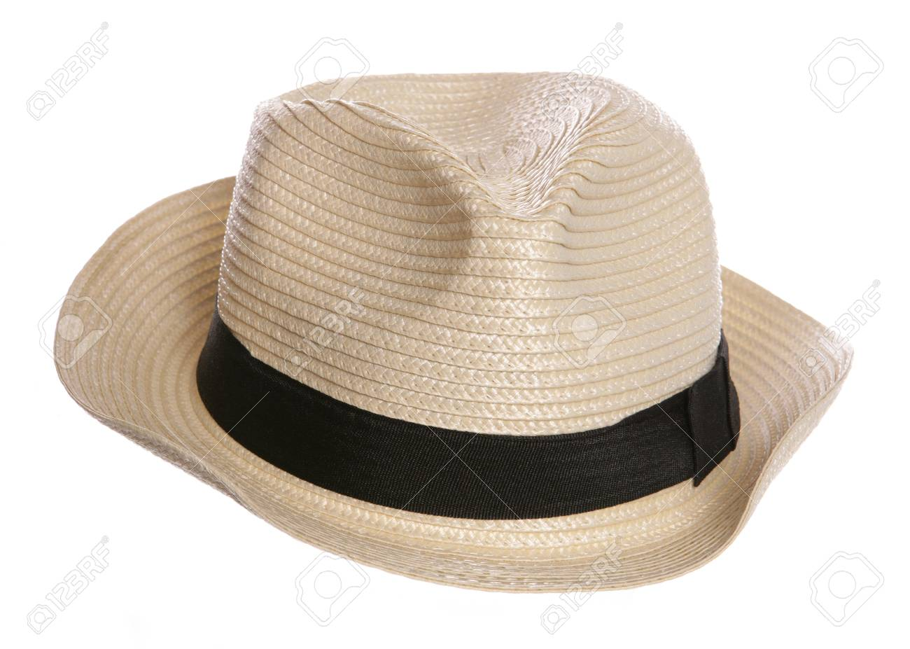 posh old mans hat studio cutout Stock Photo - 20891117 e80ff6a9085