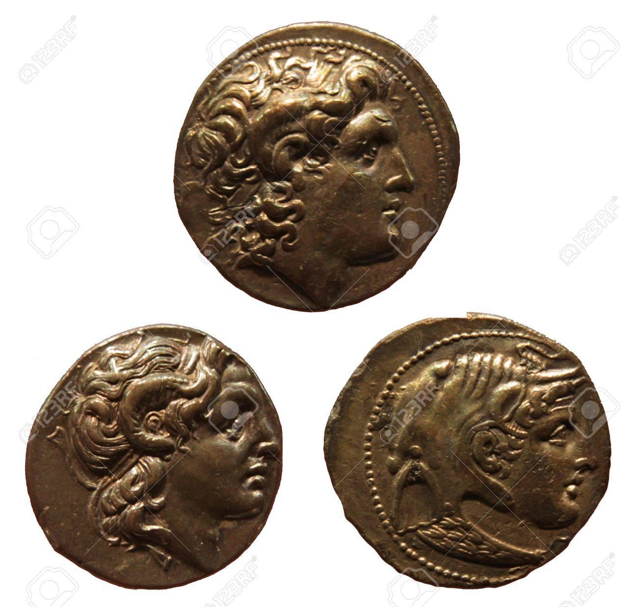 Antike Münzen Die Alexander Der Große Alexander Iii Von