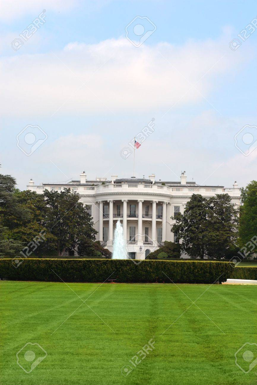 White House Residence Of President Of Usa In Washington Dc Stock Photo Picture And Royalty Free Image Image 5065829