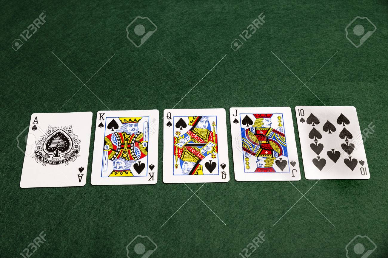 What is the highest royal flush in poker that was a crazy game of poker live lyrics
