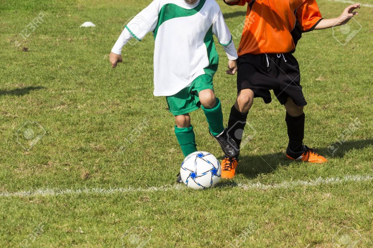 Immagini Di Calcio Per Bambini : Immagini stock partita di calcio per bambini image