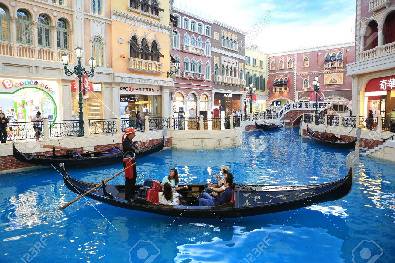 Gondola ride the venetian macau stock photo picture and royalty gondola ride the venetian macau stock photo 36221126 altavistaventures Choice Image